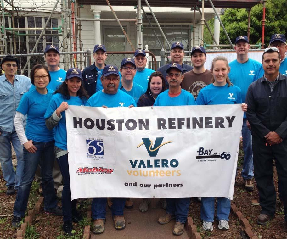 Valero-Volunteers
